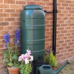 100 litre Mini Rainsaver® in use