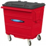 1100 litre Steelybin® with trade lid