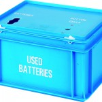 20 litre Battery Box - 2 apertures