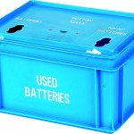 20 litre Battery Box - 3 apertures
