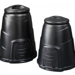 220 and 330 litre Compost Converter - black