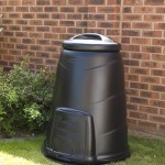 330 litre Black Compost Converter in situ