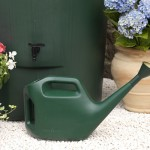 In use with a watering can