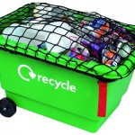 40 litre Grab Kerbside Box with net and wheels