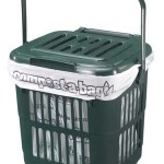 7 litre Vented Kitchen Caddy with compostable liner