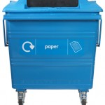 770 litre Steelybin® - front on