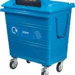 770 litre Steelybin® in use