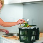 7 litre Vented Kitchen Caddy in use