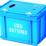 9 litre Battery Box - 2 apertures