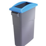 Office bin with open top