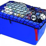 Flatside Box with Windproof Net and Wheel Kit