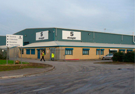 A photo of Straight Ltd's Hull manufacturing plant