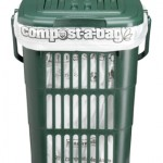 10 litre Vented Kitchen Caddy with Compostable Liner