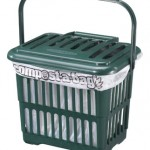 5 litre Vented Kitchen Caddy with Compostable Liner