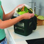 Compostable Liner in a 7 litre Vented Kitchen Caddy