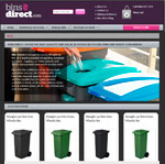 Binsdirect website preview