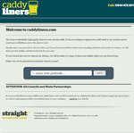 Caddyliners website preview