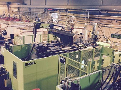 One of the new Engel machines installed at the Straight facility in Hull
