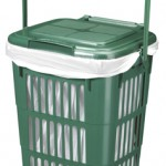 10 litre Vented Kitchen Caddy with Perforated lid