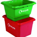 40 and 55 litre Grab Kerbside Box - cross stack