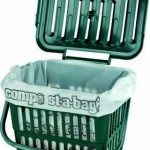 5 litre Vented Kitchen Caddy - lid open
