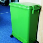 60 litre colour coded green in-situ