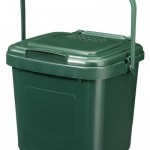 7 litre Solid Kitchen Caddy with Odour Control lid