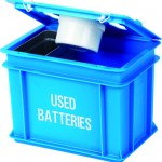 9 litre Battery Box with lid open