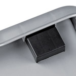 A nested RFID chip on a flatsided box