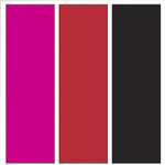 Three colours available. Pink, red and black.