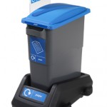 EcoSort® Midi with Trolley and Side Signage