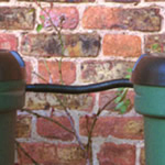 A link kit joining two water butts