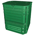 A large green Thermo King composter