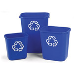 Three differents sizes of deskside bins available