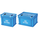Two sizes of bettery boxes available