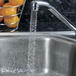 A tap with a TapMagic spray adaptor
