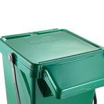 A picture of the top of the Eco Caddy Plus with its lid down